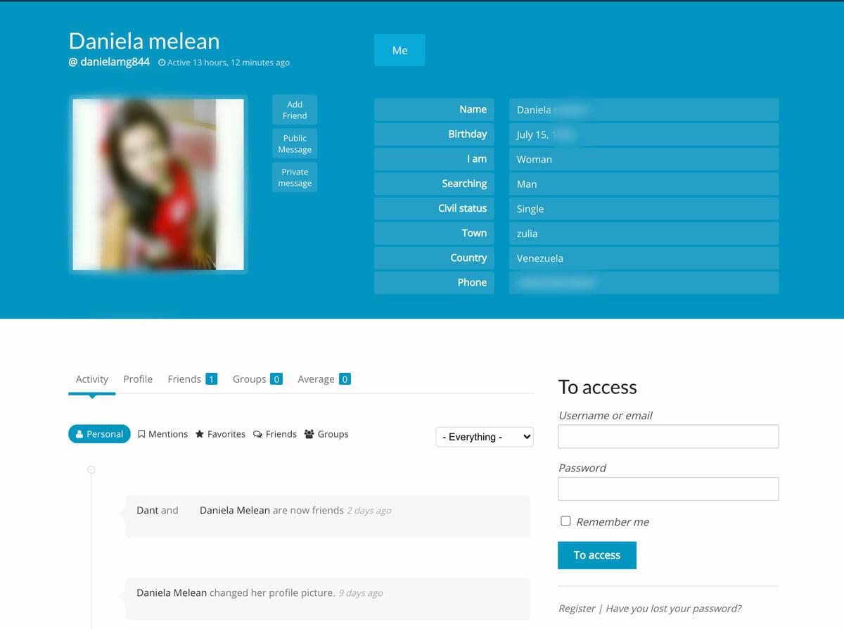 AmorenLinea girl profile
