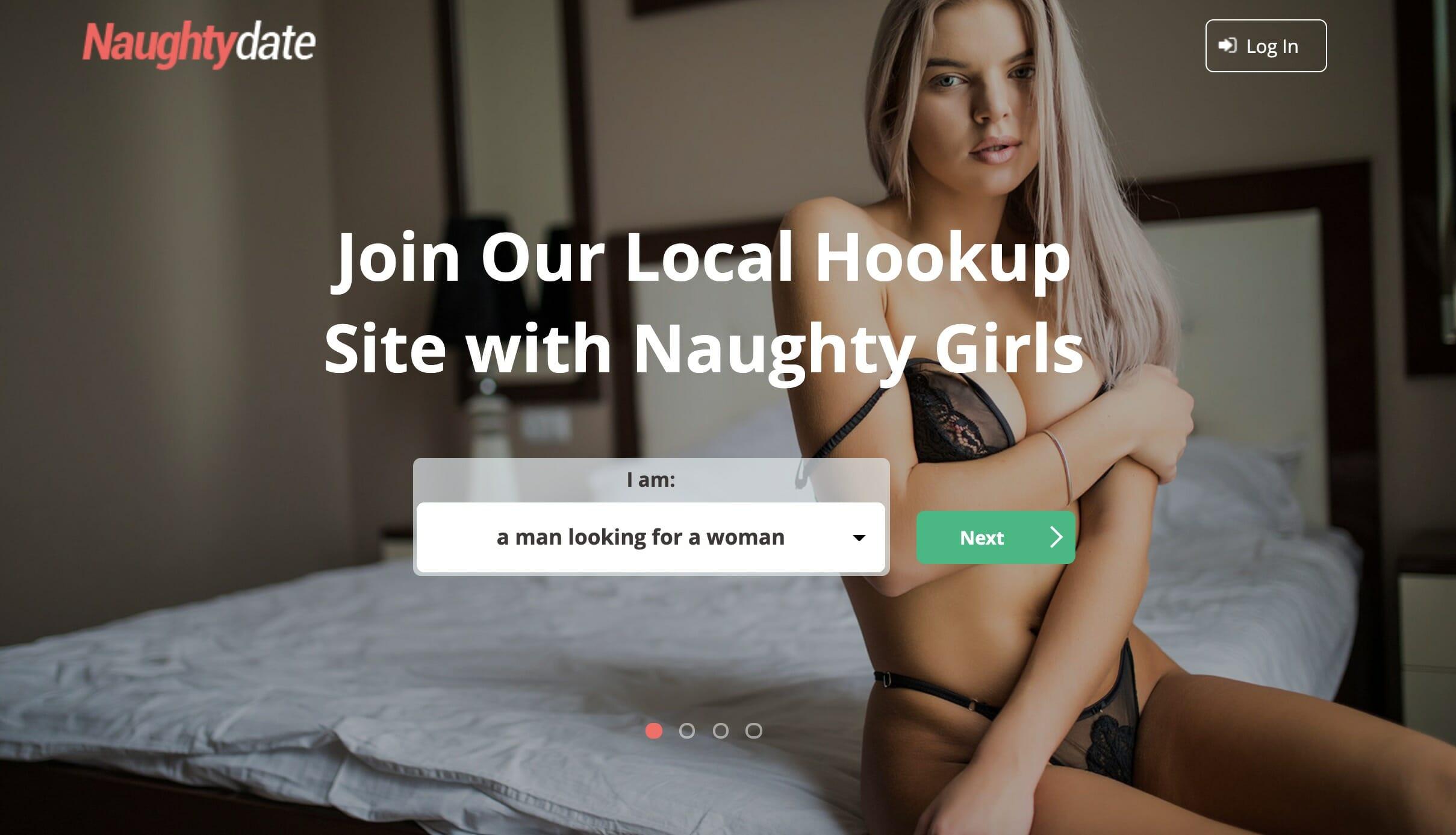 NaughtyDate main page